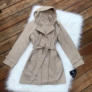 Tower by London Fog Trench Belted Rain Coat M